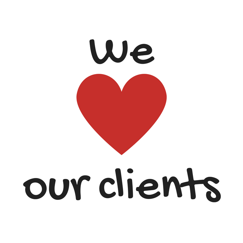 We Love Clients