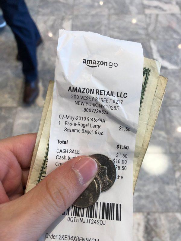 cash amazon