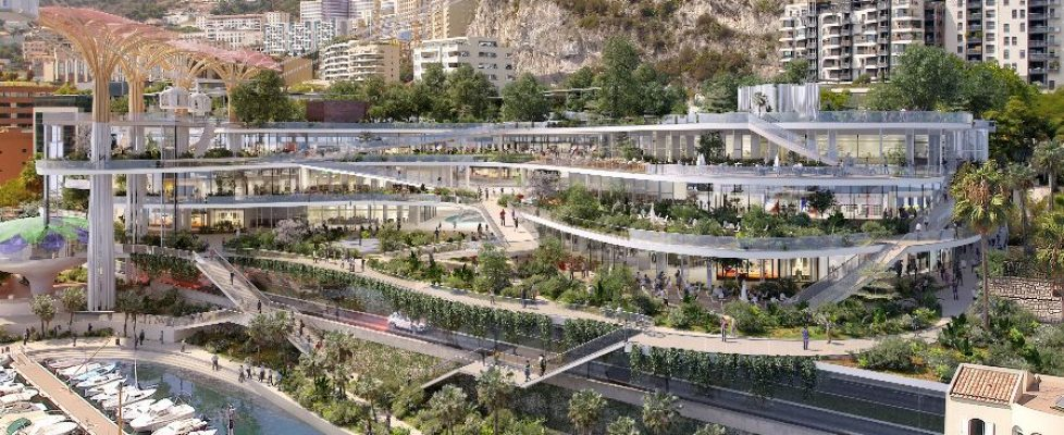 Monaco-fontvieille-shopping-centre-new-design-2019